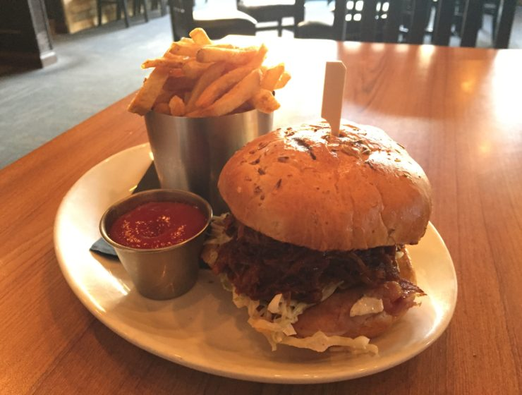 The Noble Pig BBQ Pulled Pork Sandwich photo by Kaila So