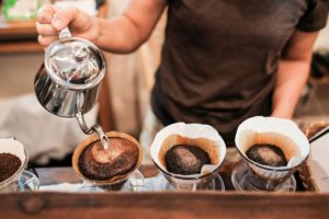 Pour over coffee photo copyright Hopwired Festival