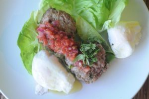 Paleo Breakfast Burger photo from Eat Your Cake