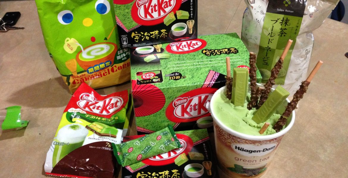 Uji Matcha Kit Kat in Matcha Ice Cream and various snacks image by Kit Kat Edtertainer