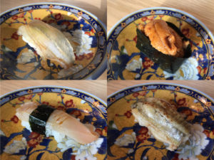 Masayoshi Nigiri Omakase featuring Uni, Eel and others